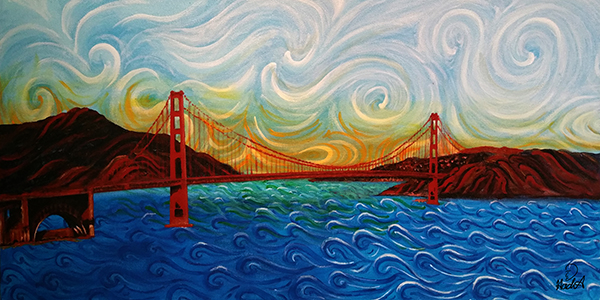 Dreaming Golden Gate